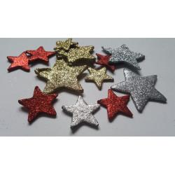 Glitterové hvězdy